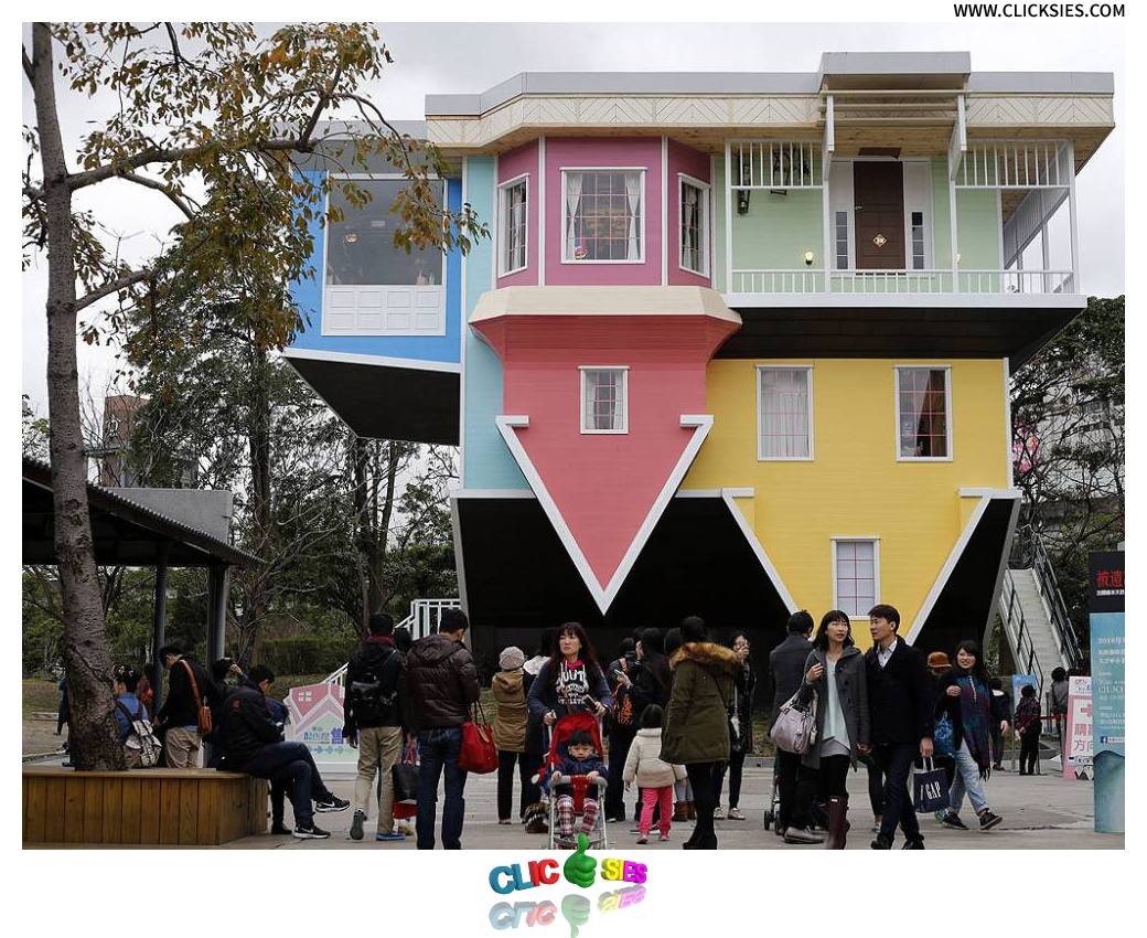 Upside Down Architecture - www.clicksies.com