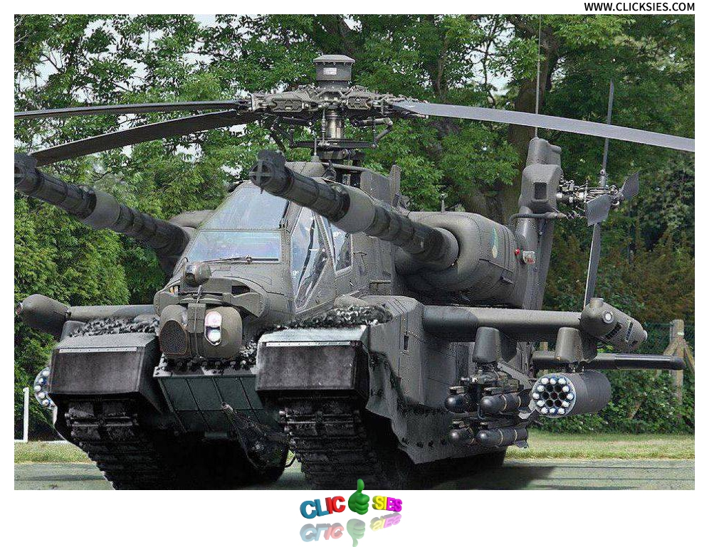 Helicopter Tank Combo - www.clicksies.com