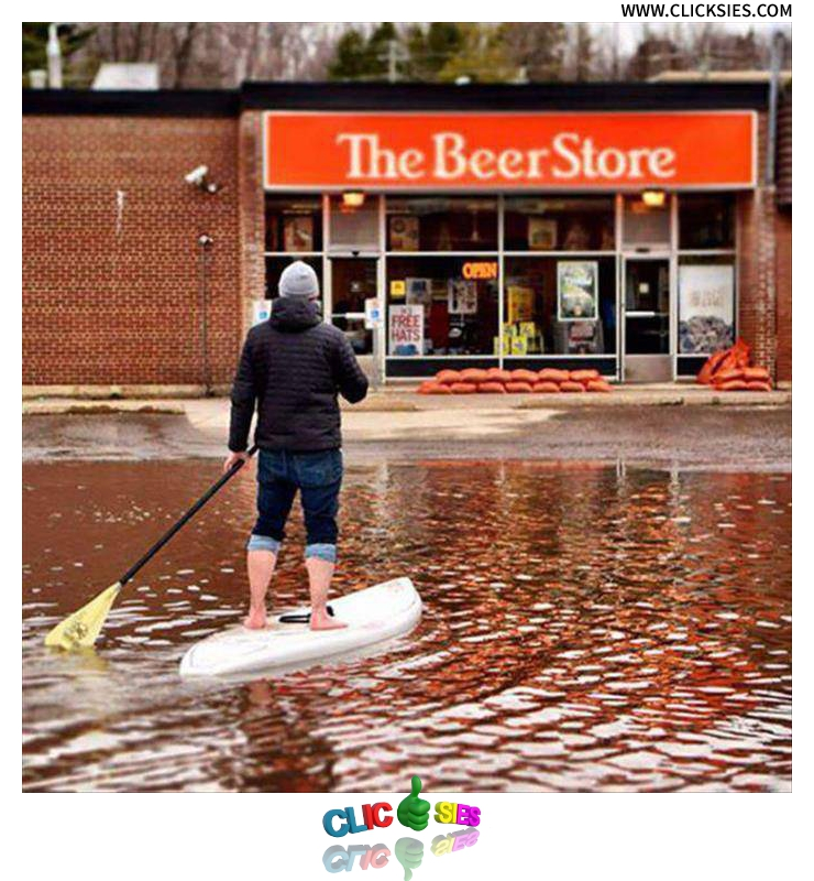 When you need beer, nothing can stop you - www.clicksies.com