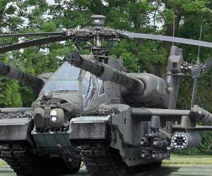 Helicopter Tank Combo