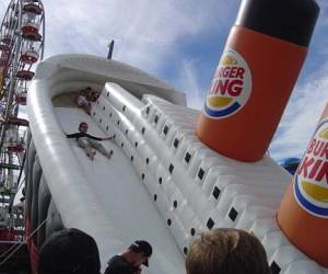 Titanic sinking sponsored by Burger King