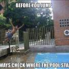 Always Check where the pool start
